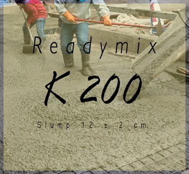 Harga Readymix K 200