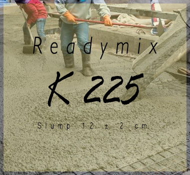 Readymix K 225 Per Kubik