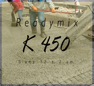 Harga Beton K 450